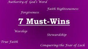 7 must wins