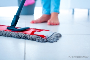 mopping-floor