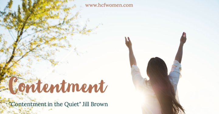 Contentment in the Quiet