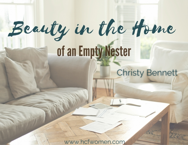 Beauty in the Home as an Empty Nester
