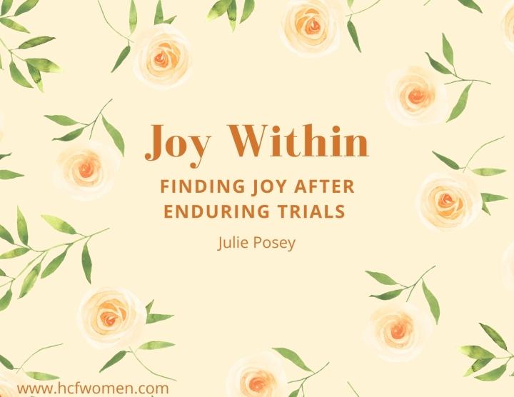 Finding JOY after EnduringTrials
