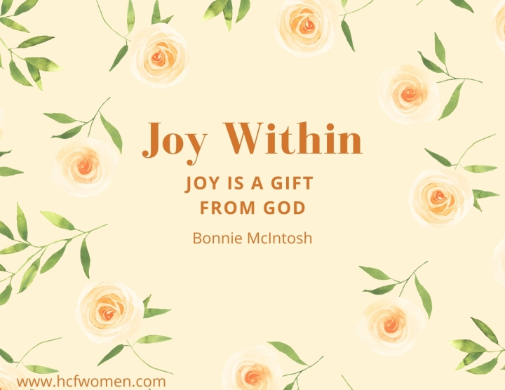 JOY is a gift fromGod